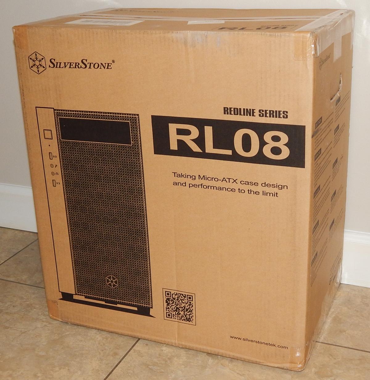 SilverStone RL08 Box