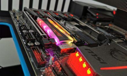 ADATA M.2 NVMe RGB SSD W/ RTS5762; Spectrix Rises