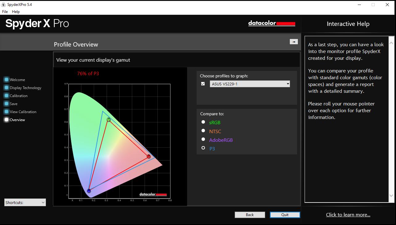 Datacolor SpyderX Pro Colorimeter Review: Advanced Monitor Calibration - Displays 26