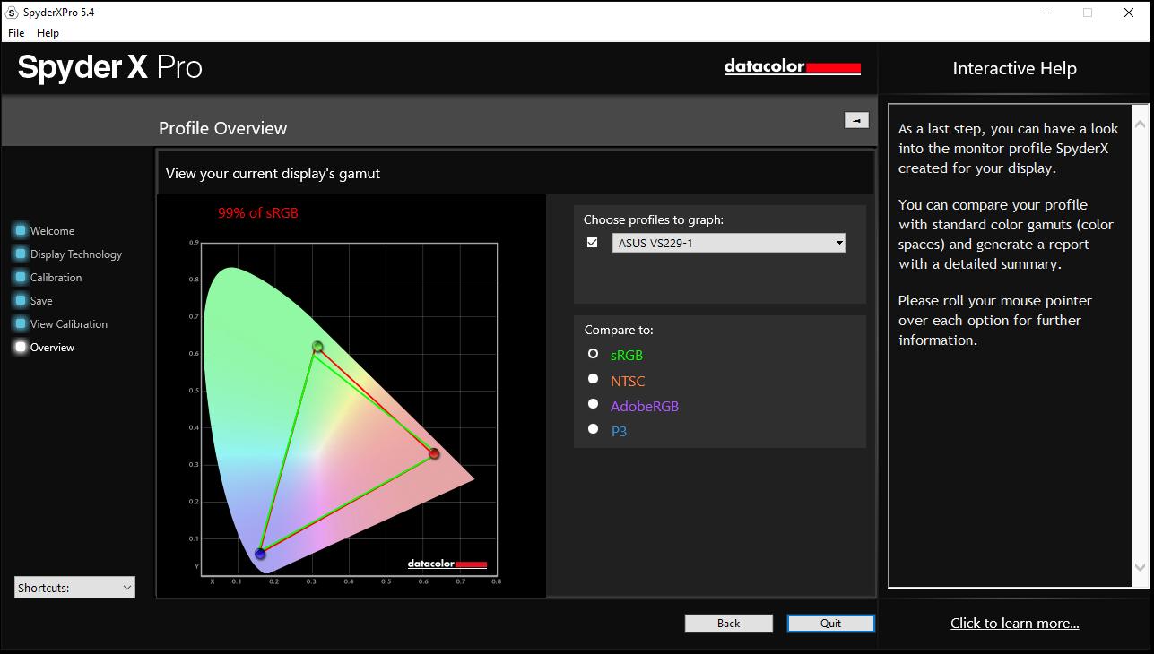 Datacolor SpyderX Pro Colorimeter Review: Advanced Monitor Calibration - Displays 23