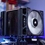 CORSAIR A500 Dual Fan CPU Air Cooler Review