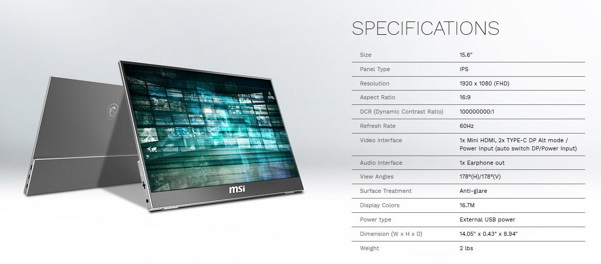 MSI Ushers In Brand New Optix Gaming Monitors - Displays 1