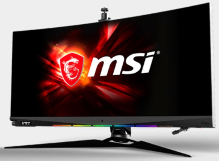 CES 2020: MSI Announces Optix Gaming Monitors: MEG381CQR, MAG342CQR, and MAG161 - Displays 4