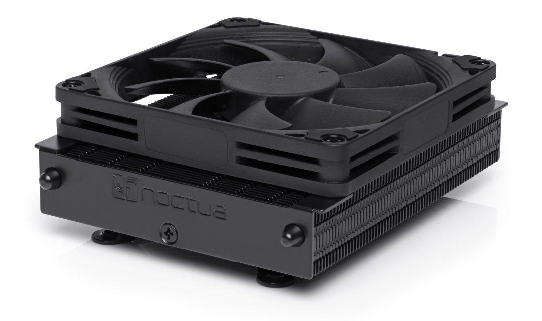 Noctua Launches Low Profile NH-L9a-AM4 Chromax Black CPU Cooler