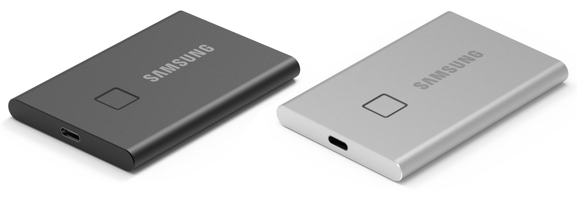 CES 2020: Samsung Announces Fingerprint-Secured T7 Touch SSD - Storage 1