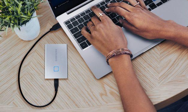 CES 2020: Samsung Announces Fingerprint-Secured T7 Touch SSD