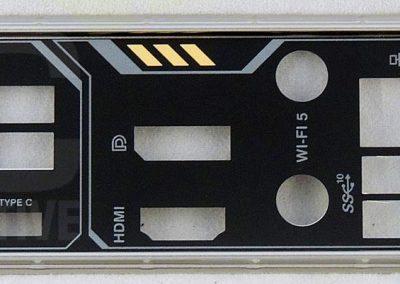 TUFGamingX570Plus-board-rear-panel-shield