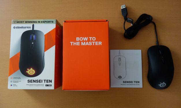 SteelSeries Sensei Ten; New Sensor For A New Mouse