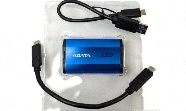 ADATA's Speedy SE800 External SSD