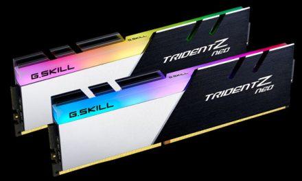 G.SKILL's Trident Z Neo Ryzen RAM