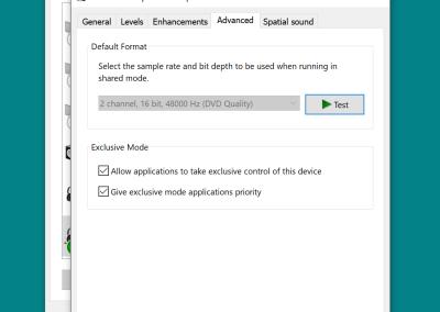 GSP370 Windows 10 Output