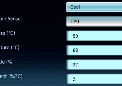 Intel NUC 9 Extreme UEFI Cooling