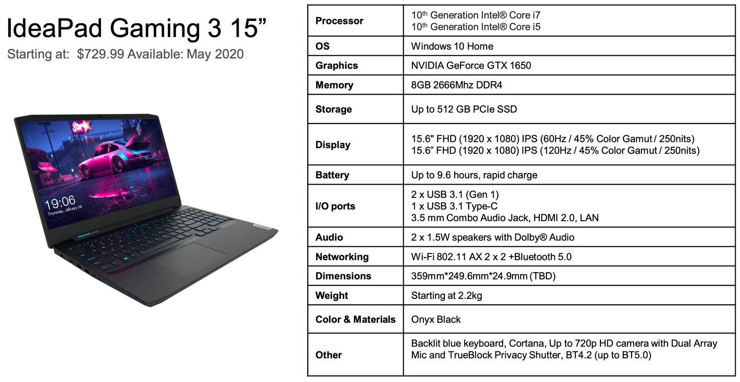 Lenovo Announces Ryzen 4000 and 10th Gen Core Legion Gaming Laptops - Systems 5