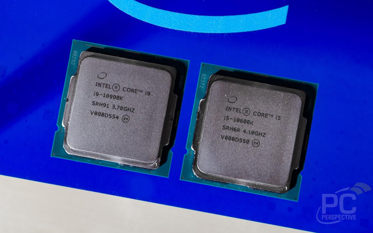 Intel 10th Gen Core i9-10900K and i5-10600K Review - Processors  2