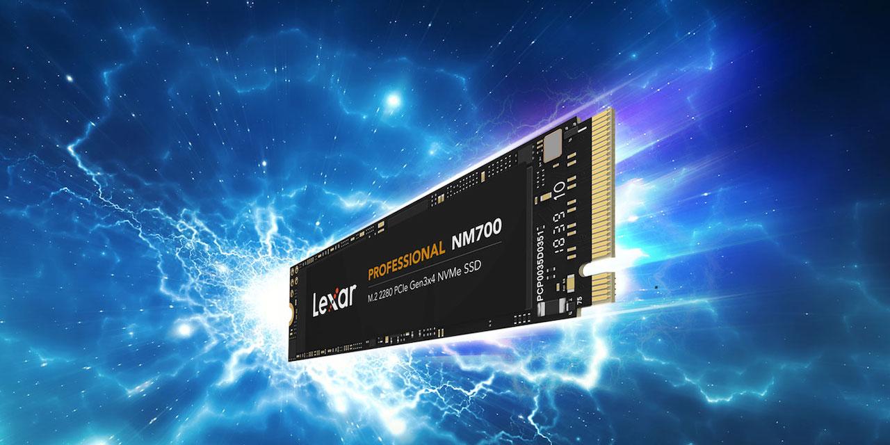 Lexar Announces the Professional NM700 PCIe Gen3 x4 NVMe SSD
