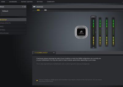 Corsair Dominator Platinum RGB iCUE 2