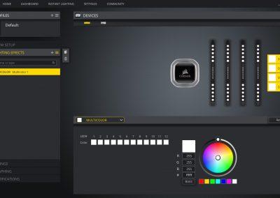 Quick Look Review: Corsair Dominator Platinum RGB Memory In White - Memory 31