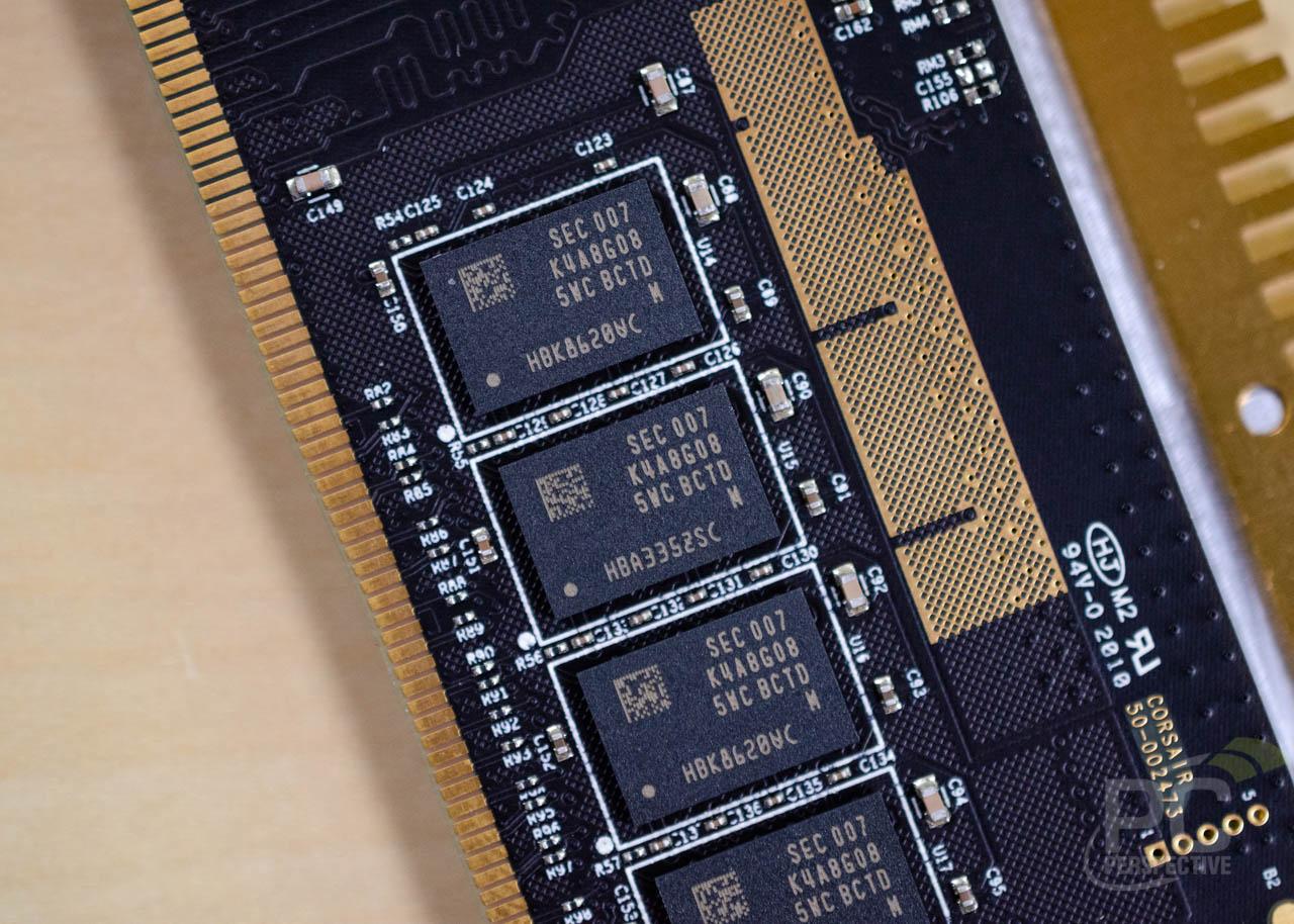 Quick Look Review: Corsair Dominator Platinum RGB Memory In White - Memory  4