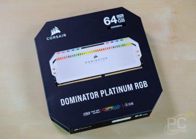 Quick Look Review: Corsair Dominator Platinum RGB Memory In White - Memory 19
