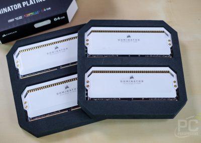 Quick Look Review: Corsair Dominator Platinum RGB Memory In White - Memory 20