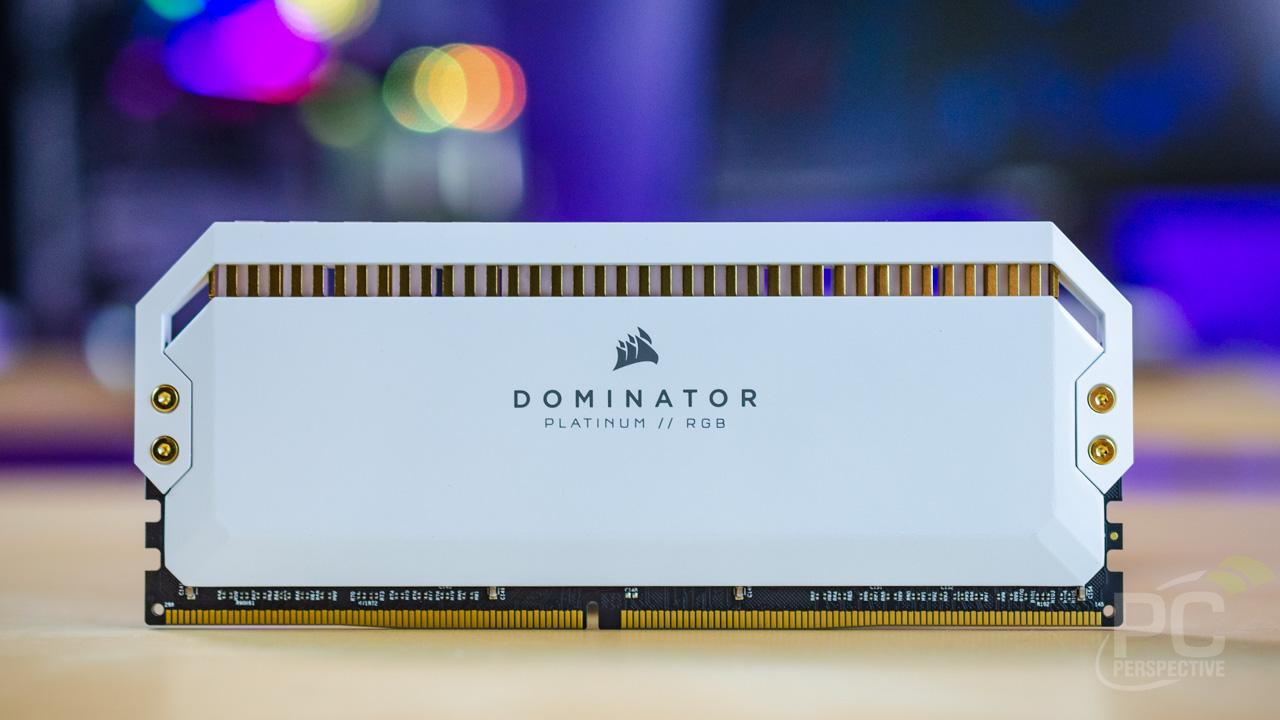 Quick Look Review: Corsair Dominator Platinum RGB Memory In White - Memory 22