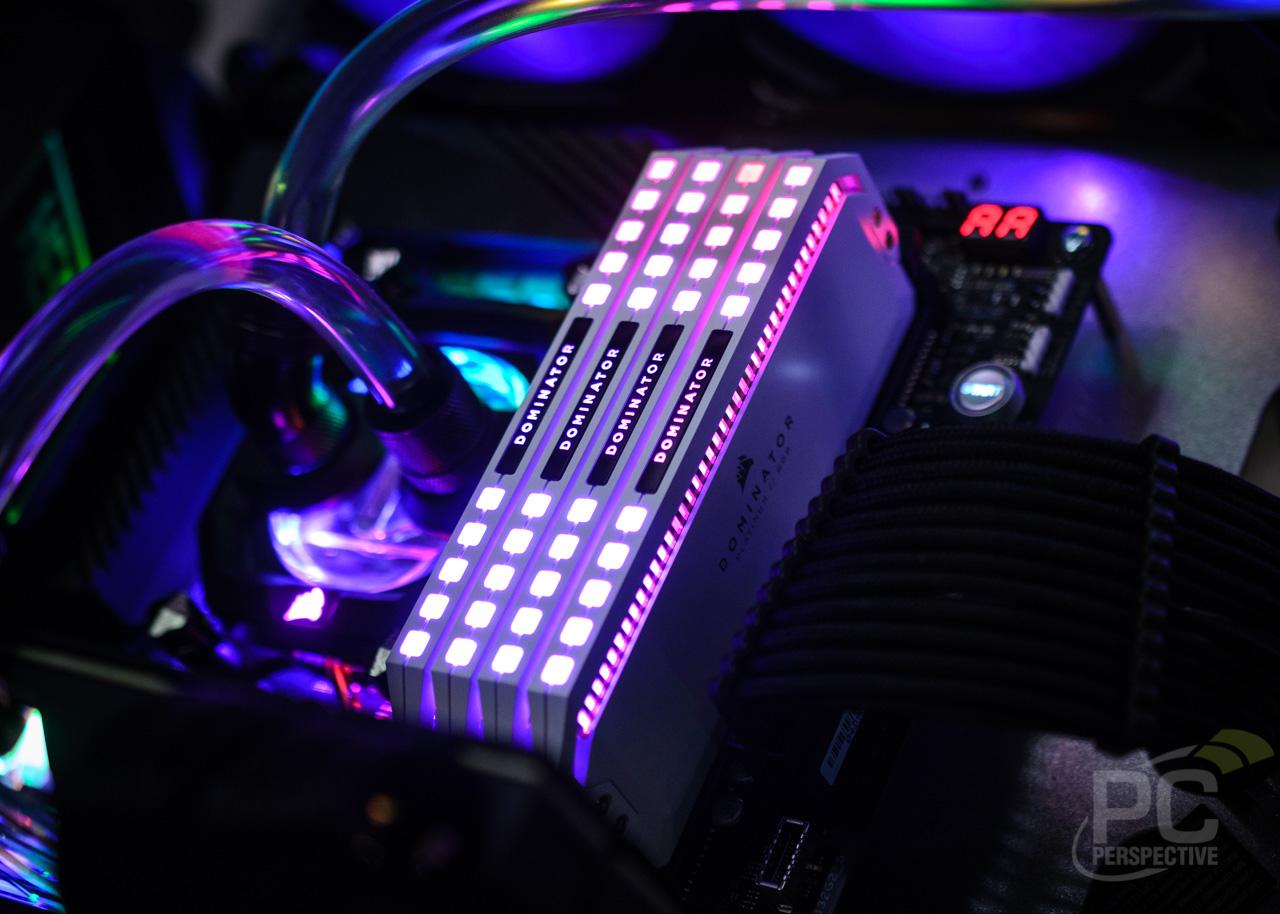 Quick Look Review: Corsair Dominator Platinum RGB Memory In White - Memory 34