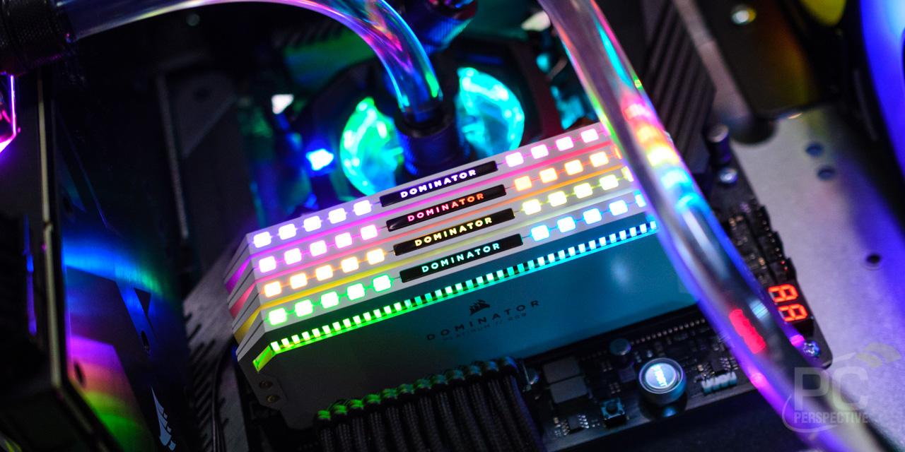 Quick Look Review: Corsair Dominator Platinum RGB Memory In White
