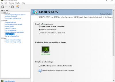 Dell S3220DGF 165Hz HDR Adaptive Sync Gaming Monitor Review - Displays 21