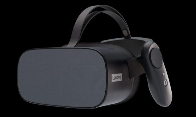 Lenovo's 4K Virtual Headset, The Mirage VR S3