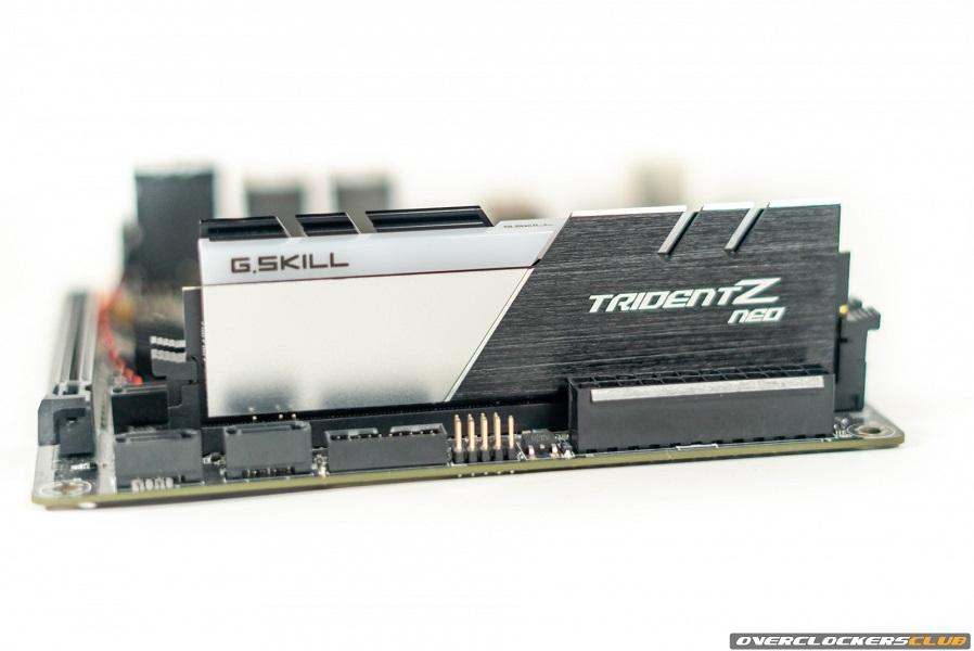 G.Skill's Overclocking Friendly TridentZ Neo DDR4-3600 16GB Kit