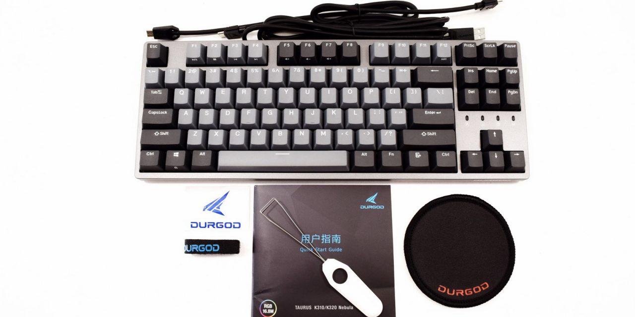 DURGOD Taurus K320; Choose Your Version Of Their Mechanical Keyboard