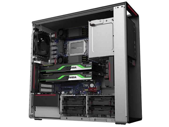 Lenovo's ThinkStation P620: First Workstation With AMD Ryzen Threadripper PRO - Systems 4