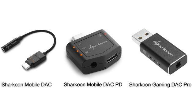 Sharkoon Is Back In DACs!