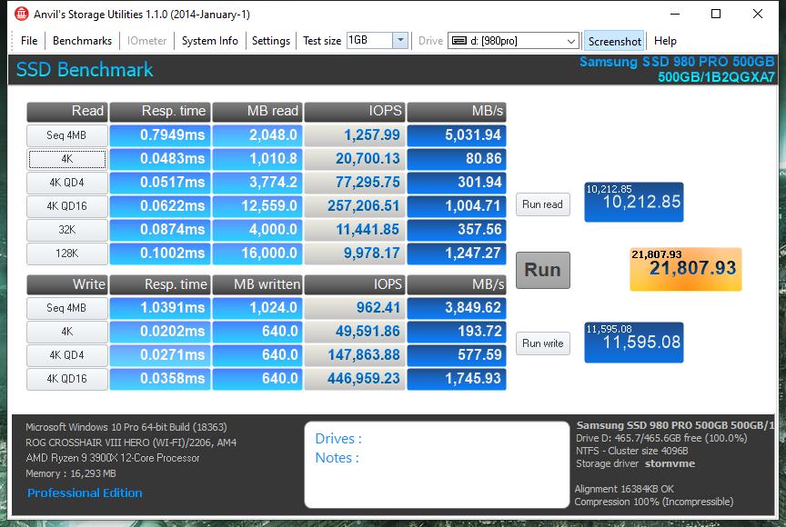 Samsung 980 PRO PCI Express 4.0 NVMe SSD Review - Storage 22