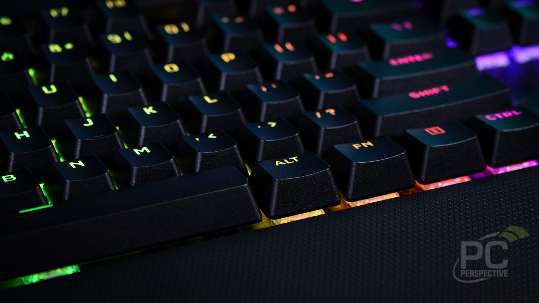 CORSAIR K100 RGB Optical-Mechanical Gaming Keyboard Review - General Tech 20