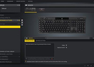 CORSAIR K100 RGB Optical-Mechanical Gaming Keyboard Review - General Tech 25
