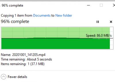 1GB-ish USB 3.0