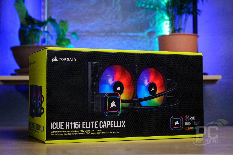 CORSAIR iCUE H115i ELITE CAPELLIX Liquid CPU Cooler Review - Cases and Cooling 17