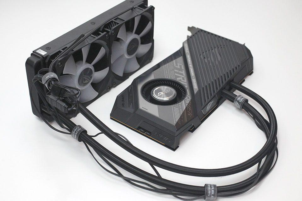 ASUS Radeon RX 6800 XT STRIX OC With Liquid Cooling