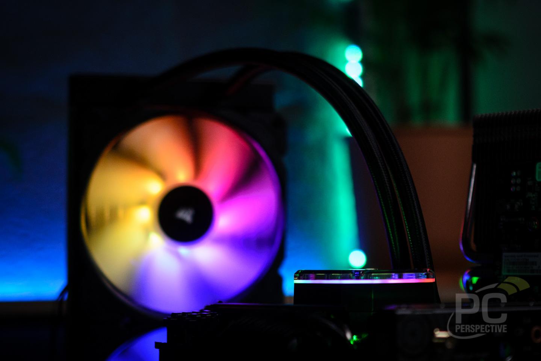 CORSAIR iCUE H115i ELITE CAPELLIX Liquid CPU Cooler Review - Cases and Cooling 32