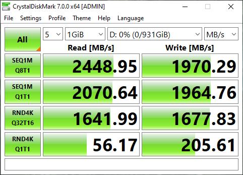 WD Blue SN550 NVMe SSD Review - Storage 13