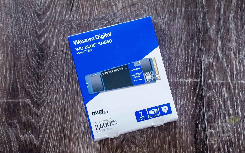 WD Blue SN550 NVMe SSD Review - Storage 22