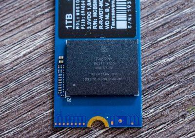 WD SN550 NVMe SSD NAND