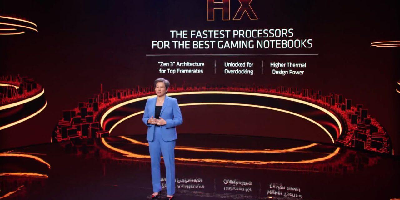 CES 2021: AMD Announces Ryzen 5000 Mobile Processors
