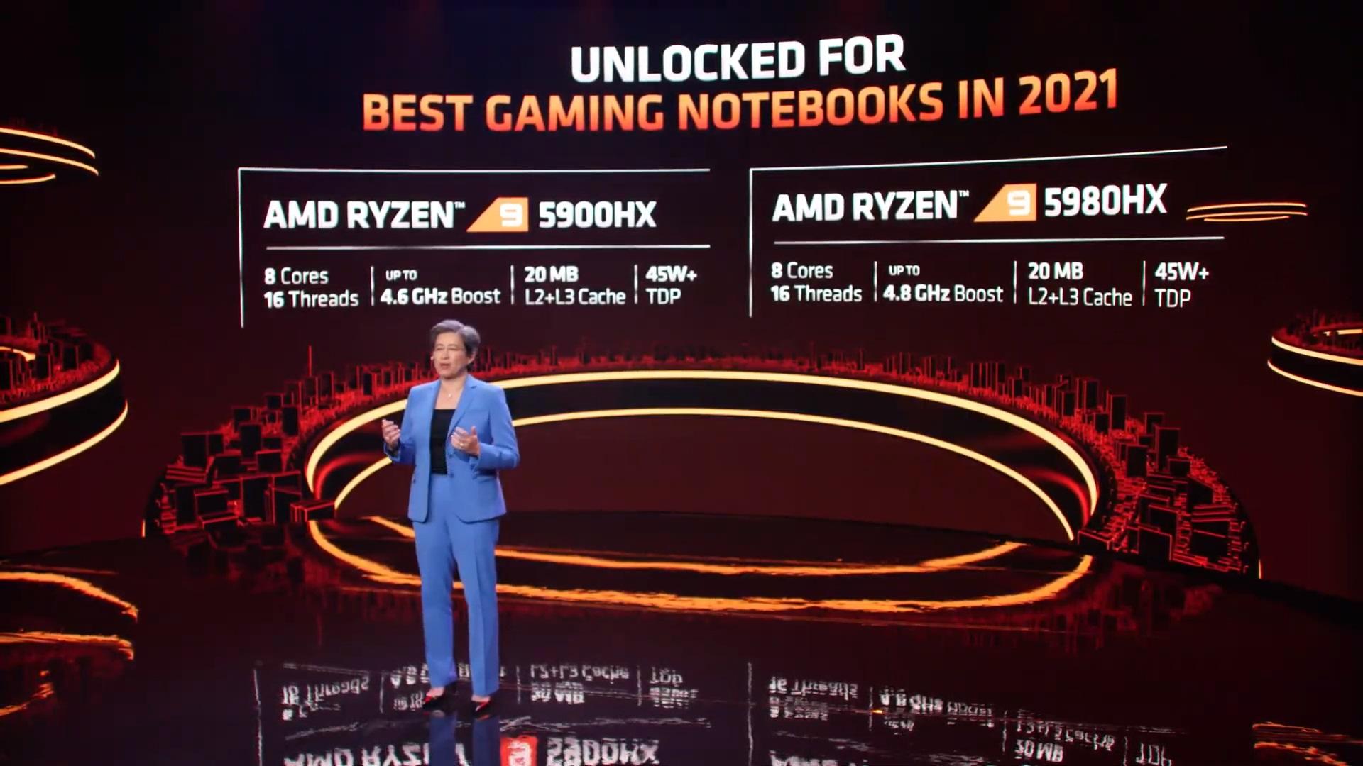 CES 2021: AMD Announces Ryzen 5000 Mobile Processors - Mobile 4