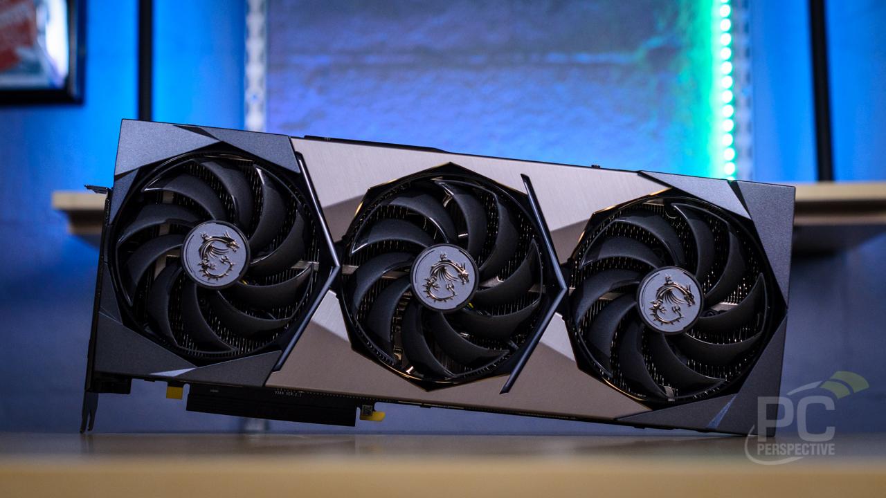 MSI GeForce RTX 3080 3090 SUPRIM Front View