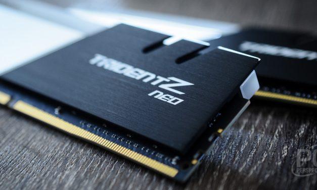 G.SKILL Trident Z Neo DDR4-3600 CAS 14 AMD Ryzen Memory Review
