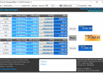 Samsung 980 PRO 2TB PCI Express 4.0 NVMe SSD Review - General Tech 19