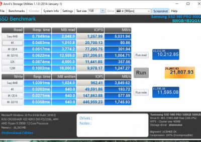 Samsung 980 PRO 2TB PCI Express 4.0 NVMe SSD Review - General Tech 20