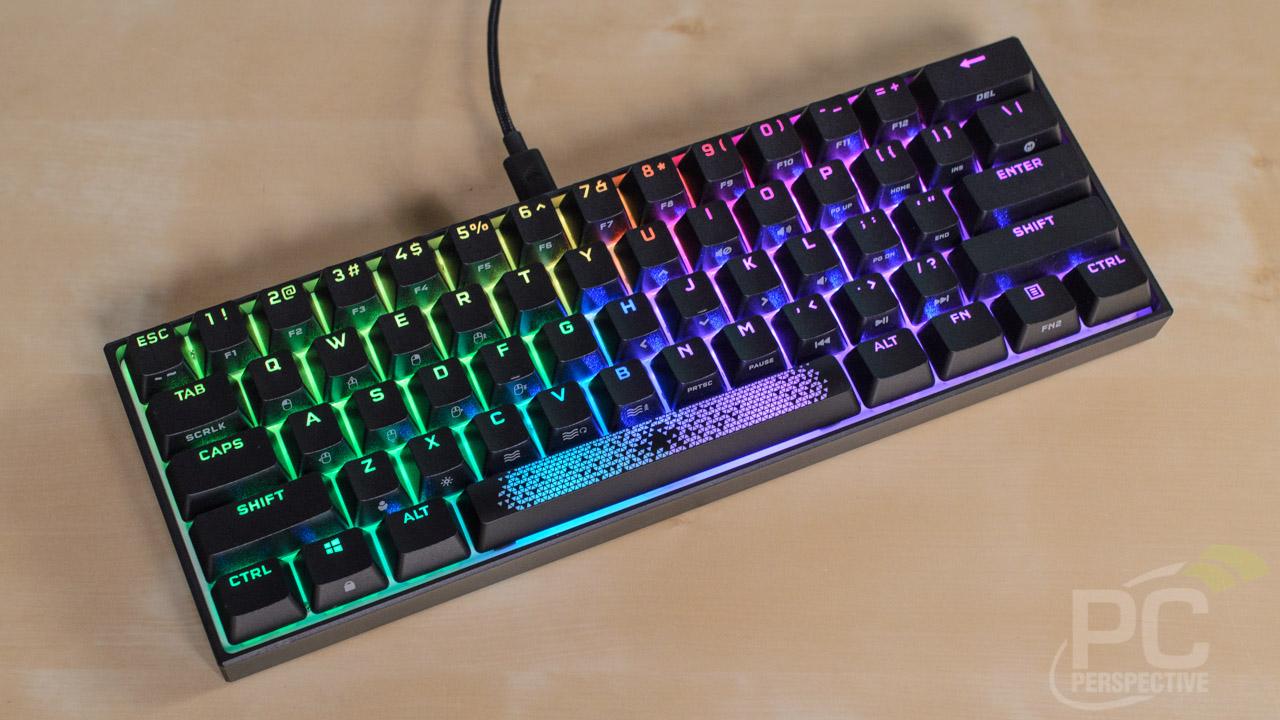 CORSAIR K65 RGB MINI 60 Percent Keyboard Review - General Tech 18
